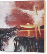 Angel Of The Yucatan Wood Print