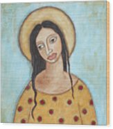 Angel Of Tolerance Wood Print by Rain Ririn