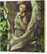 Angel Oriphiel Wood Print