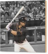 Angel Pagan Wood Print