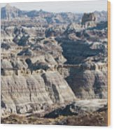 Angel Peak - Badlands Wood Print