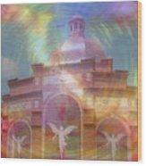 Angel Sanctuary Wood Print