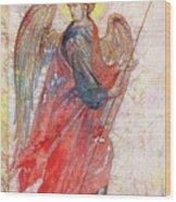 Angel Wood Print by Tanya Ilyakhova
