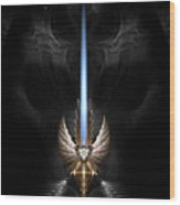 Angel Wing Sword Of Arkledious Dgs Wood Print