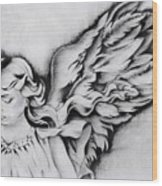 Angel Wings Wood Print