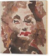 Angela IIi Wood Print