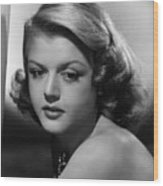 Angela Lansbury, 1948 Wood Print