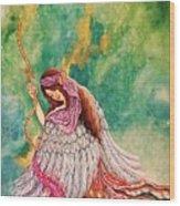 Angele Wood Print