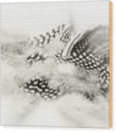 Angelic Message Wood Print