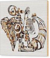 Angelic Tube 3637 Wood Print