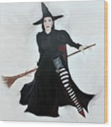 Angelica Houston Bewitched Wood Print