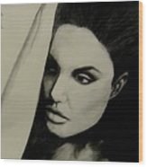 Angelina Wood Print