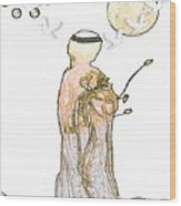 Angelita Blanco Wood Print