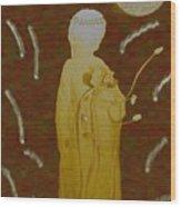 Angelita De Oro Wood Print