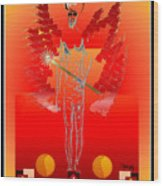 Angels - Archangel Sariel Wood Print
