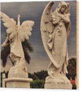 Angels In Havana Wood Print