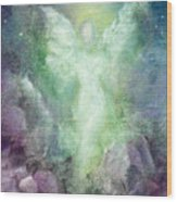 Angels Journey Wood Print