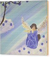 Angel's Melody  Wood Print