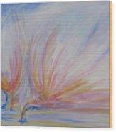Angels Of Revival Ps 104 4 Wood Print