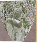 Angels Of The Snow  B Wood Print