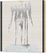 Angels Series - Angelika Wood Print