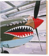 Anger Management Palm Springs Air Museum Wood Print