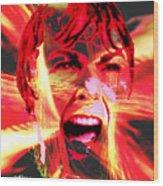 Anger Management Wood Print