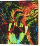 Anger Tunnel Wood Print