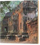 Angkor Wat Ruins - Siem Reap, Cambodia Wood Print
