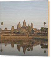 Angkor Wat Temple, Cambodia Wood Print
