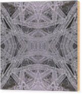 Angles In Ice On Monadnock - A1 Wood Print