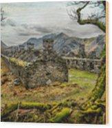 Anglesey Barracks Wood Print