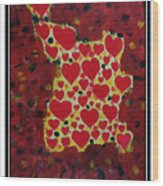 Ango Love Wood Print