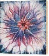 Angora Bloom Wood Print