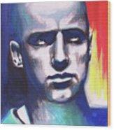 Angry Young Man Wood Print