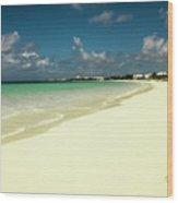 Anguilla - Beach  Wood Print