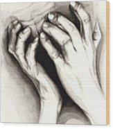 Anguish #2 Wood Print