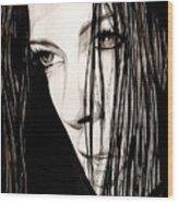 Anguish #5 Wood Print