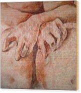 Anguish Wood Print