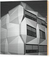 Angular Architecture Wood Print
