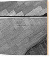Angular Datum Wood Print