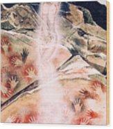 Anima Rising Wood Print