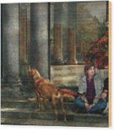 Animal - Dog - Hello There Wood Print