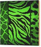 Animal Prints Wood Print