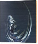 Animartronic Fishhead In The Dead Sea Of The Future Wood Print
