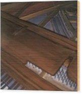 Anita's Piano 2 Wood Print