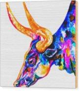 Ankole Longhorn Wood Print