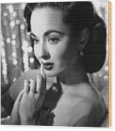 Ann Blyth, Ca. 1950s Wood Print by Everett