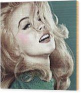 Ann Margret, Patio Diet Cola, Bye, Bye Birdie, Sterling Cooper Pryce, Mad Men Wood Print