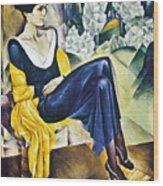 Anna Akhmatova (1889-1967) Wood Print